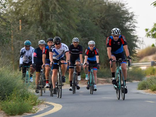 Look: Dubai on track to becoming a bicycle-friendly city