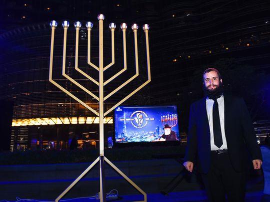 Look: Hanukkah celebrations at Dubai's Burj Khalifa