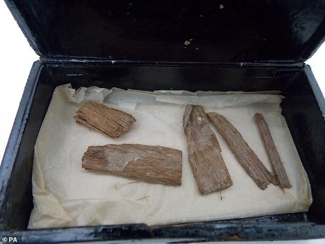 Lost 5,000-year-old artefact from the Great Pyramid of Giza is found in a Scottish CIGAR TIN