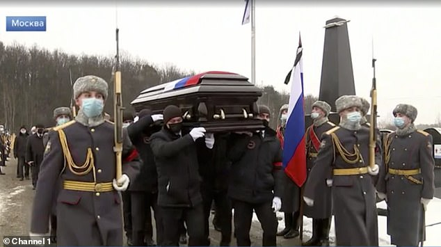 MI6 traitor George Blake buried with military honours in Moscow