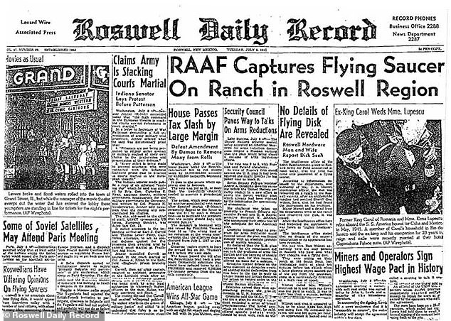 Man who investigated the 1947 Roswell crash found indestructible debris 'not made by humans hands'