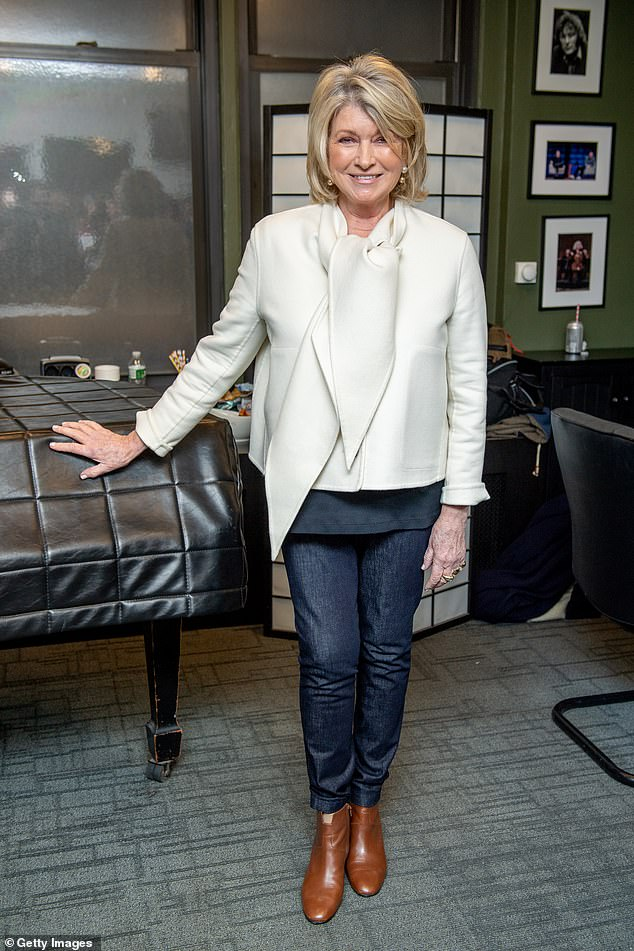 Martha Stewart hilariously roasts Instagram follower as she plugs her CBD products: 'Are you high?'