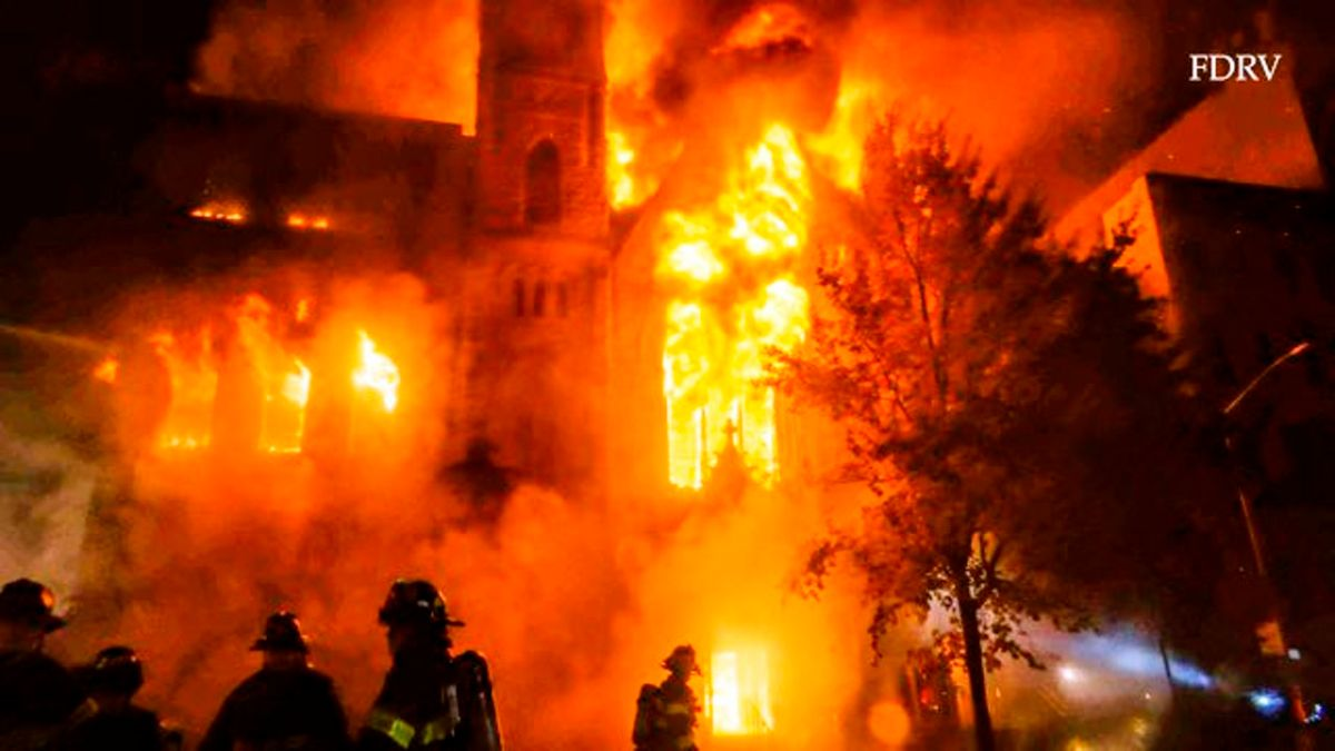 Mass Fire Destroyed Historic Church in Lower Manhattan | The State