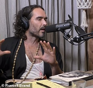 Matthew McConaughey and Russell Brand have lashed out at liberals who 'condescend and patronize' conservatives