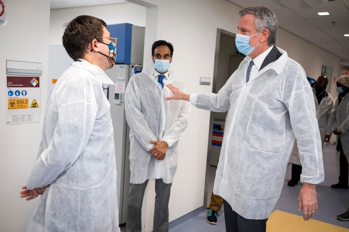 Mayor De Blasio Announces the Creation of a COVID-19 Vaccine Command Center in NYC | The State