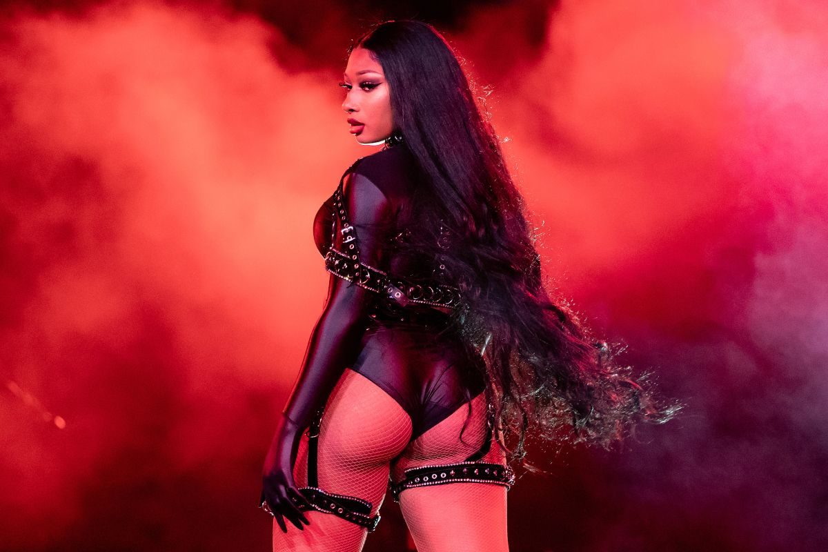 Megan Thee Stallion shows off her prominent curves in a tiny bikini | The State