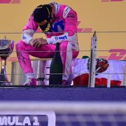Mercedes errors cost George Russell moment of glory as Perez wins chaotic Sakhir GP