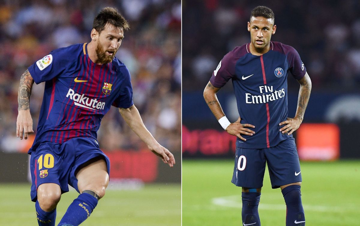 Messi vs. Neymar: Champions League draw designated scream duel | The State