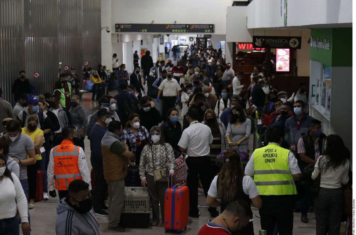 Mexico maintains flights to the United Kingdom despite new strain of COVID | The opinion