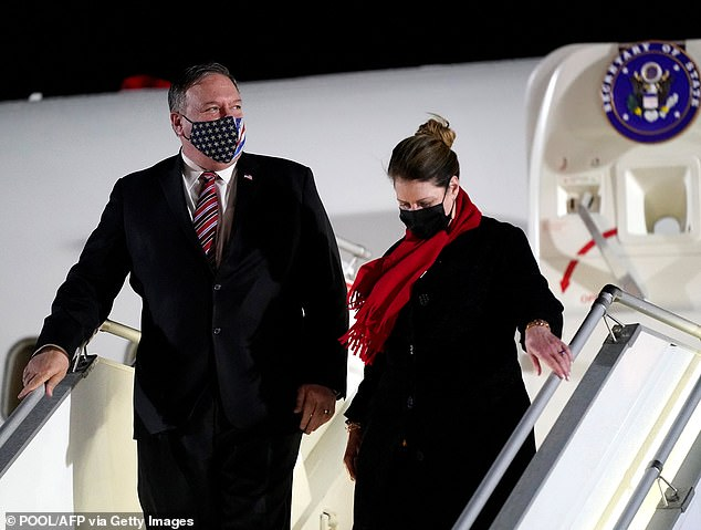 Mike Pompeo DENIES he and his wife attended any State Department or White House holiday parties