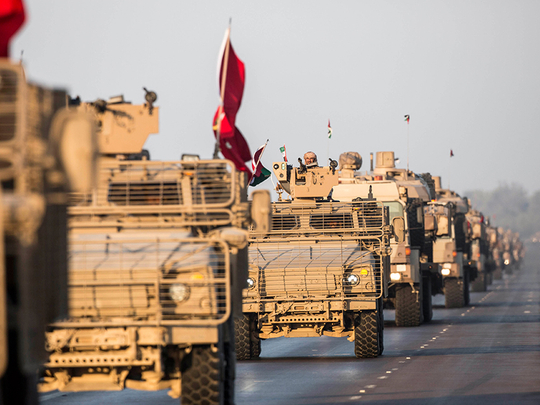 Military field exercises expected across UAE on the weekend
