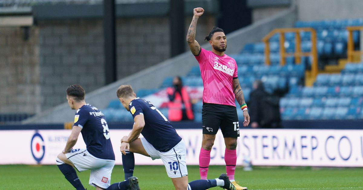 Millwall fans who booed players taking the knee are hiding behind a racist lie