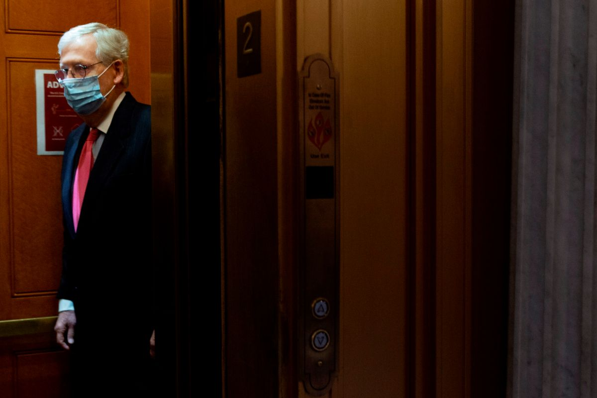 Mitch McConnell also didn't look good with Trump's call for a $ 2,000 check   The State