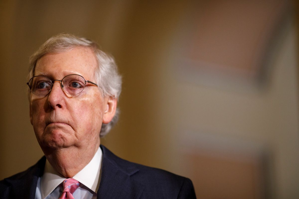 Mitch McConnell is the main opponent of the new bipartisan financial aid plan | The State