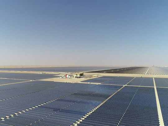 Mohammed bin Rashid Al Maktoum Solar Park launches third phase in Dubai
