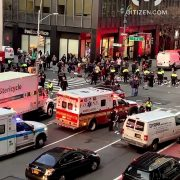 Motorist plows into group of BLM protesters in New York City, injuring at least four