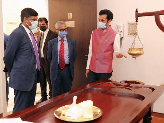 New Ayurveda centre for alternative treatment opens in Abu Dhabi's Al Reem Island