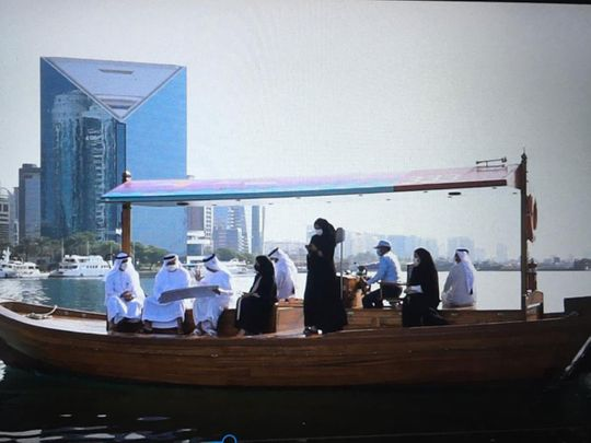 New generation of traditional wooden abras launched in Dubai
