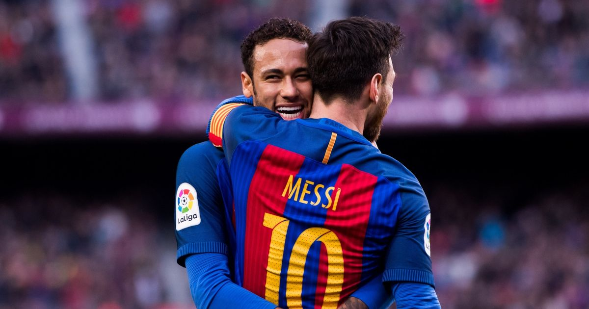 Neymar sends message to Lionel Messi as PSG draw Barcelona in Champions League