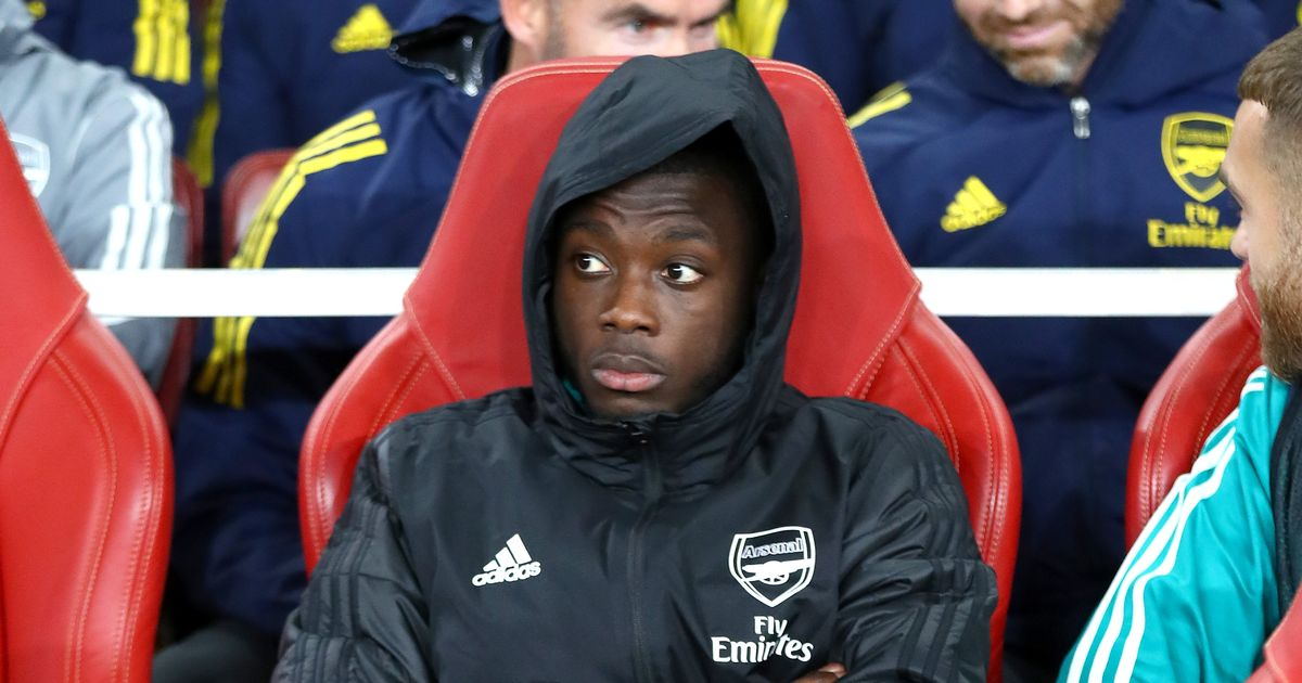 """Nicolas Pepe accused of """"cheating"""" as Arteta's problems mount up at Arsenal"""
