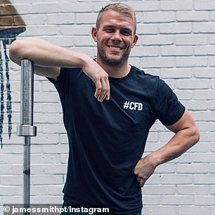 No-nonsense personal trainer JAMES SMITH reveals his struggles with anxiety and fear of rejection