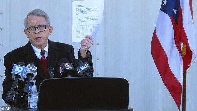 Ohio state representatives file articles of impeachment against Gov DeWine for his lockdown policies