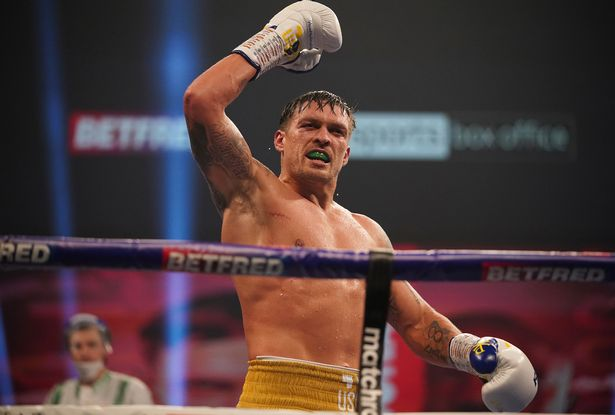 Usyk has hinted he would step aside to allow Joshua to fight Fury