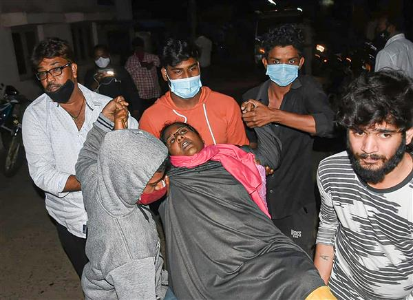 One dead, 290 taken ill in Andhra Pradesh due to mysterious disease