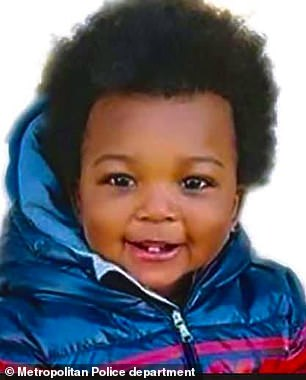 One-year-old boy is shot dead in his father's car in Washington DC
