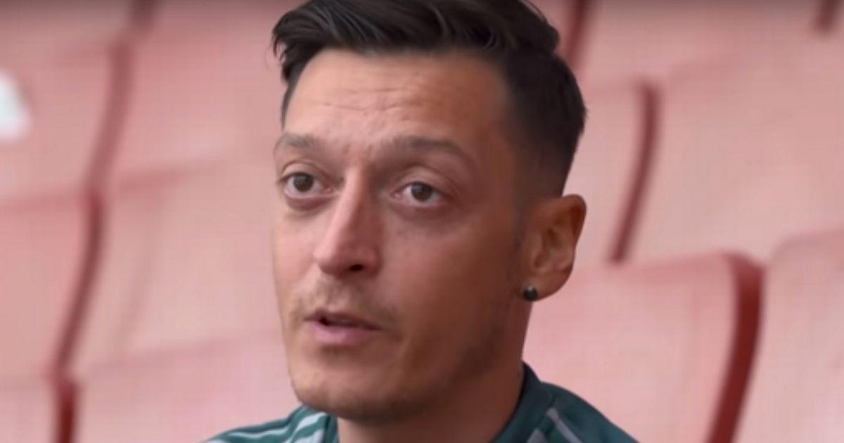 Ozil makes his feelings known on Twitter as pressure mounts on Arteta