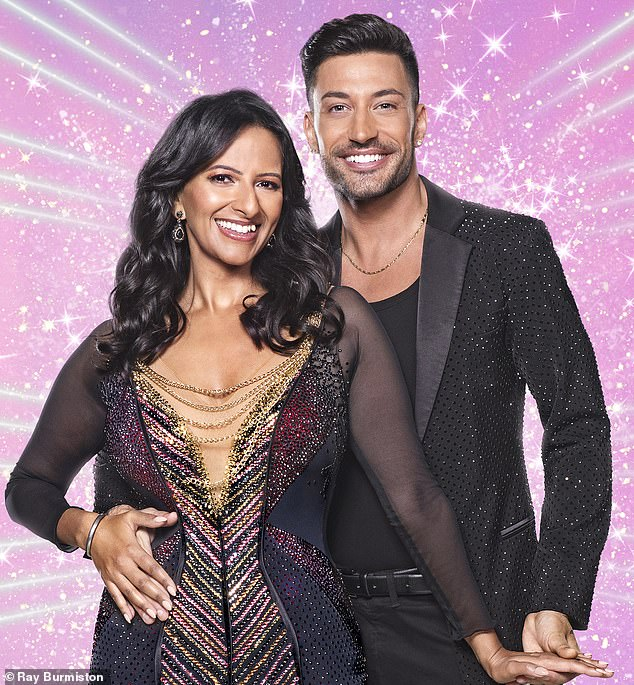 My Good Morning Britain colleague Ranvir Singh (above, with Giovanni Pernice) is lighting up Strictly Come Dancing with her stunningly good performances