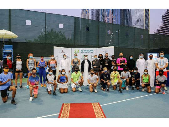 Pahlavi Patel falls short of double glory at Al Habtoor Tennis Cup