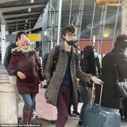 Passengers arrive in New York from the UK WITHOUT being checked for COVID despite mutant strain