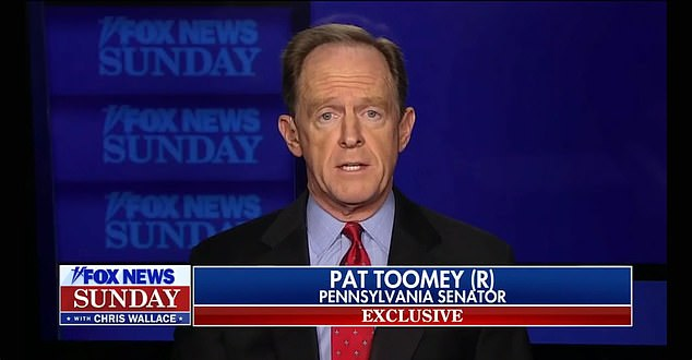 Pat Toomey says Trump will be remembered for 'chaos and misery' if he doesn't sign COVID bill