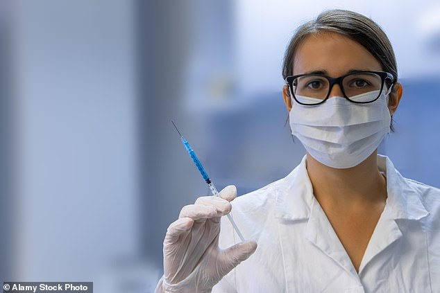 Patients feel less pain when they SMILE during an injection, research suggests