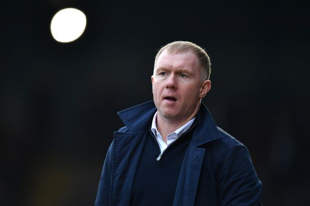 """Scholes feels the 4-2-3-1 formation """"really suits"""" United"""
