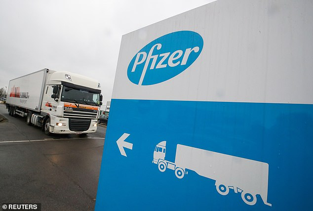 Pfizer will only ship HALF its planned 100m covid vaccine doses by year-end