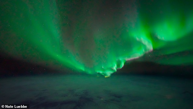 Photographer captures stunning images of the Aurora Borealis from SPACE