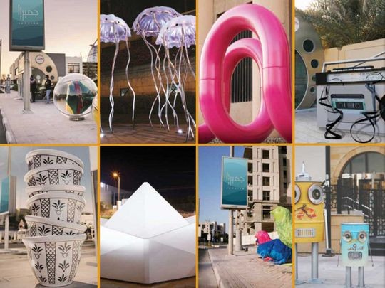 Photos: In Dubai, Jumeirah bus stops are now home to unique works of art