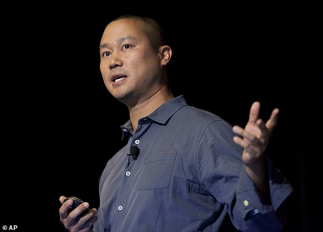 Police logs reveal that ex-Zappos CEO Tony Hsieh was hospitalized shortly before his death