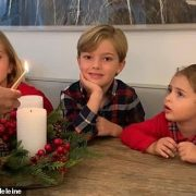 Princess Madeline of Sweden shares adorable snap of her children as she lights advent candle