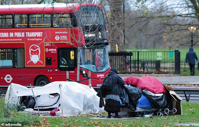 Priti Patel is urged to help 'powerless' council shut down Park Lane homeless encampment