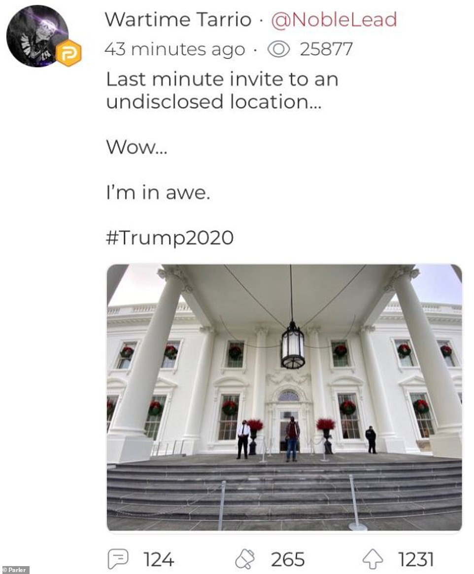 Proud Boys leader visits White House on Christmas tour ahead of 'Stop the Steal' rally in DC