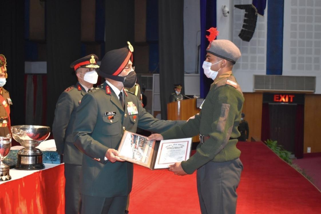 Punjab cadet among three who bag top honours at IMA