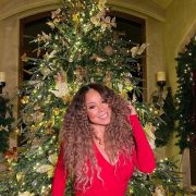 'Queen of Christmas' Mariah Carey leads stars sharing intimate at-home snaps this holiday season