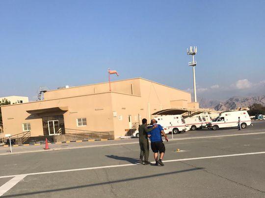 RAK Police rescue injured Arab trekker from mountain