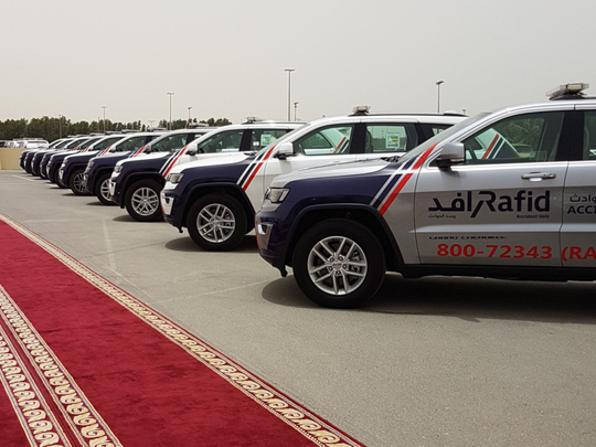 Rafid and Sharjah Police complete 'Adventure Safely' campaign for desert riders