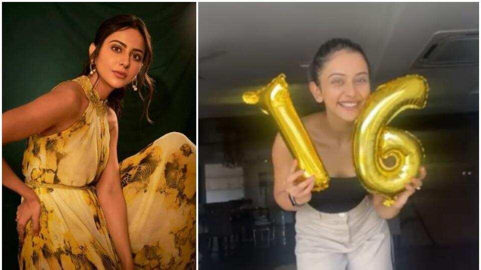 Rakul Preet Singh celebrates as her following on Instagram crosses 16 million mark, see here