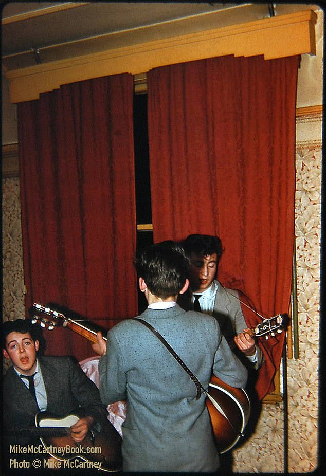 Rare picture of The Beatles in 1958 unearthed by Paul McCartney's brother and unveiled in new book