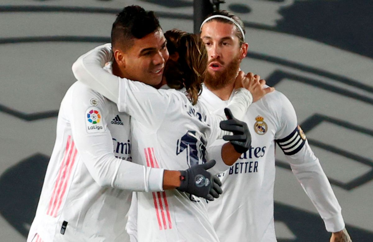 """Real Madrid hit first in the derby against """"Atleti"""" 